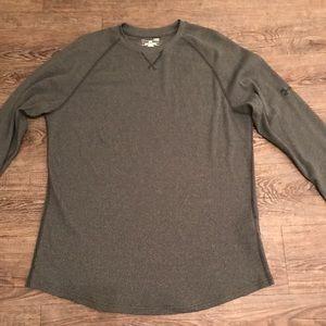 Men's Under Armour long sleeve waffle T-shirt